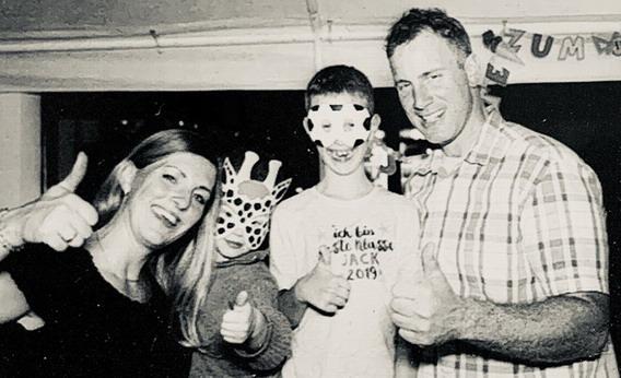 Franz, Barry & Kids